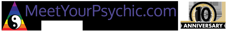 MeetYourPsychic 10th Anniversary Logo